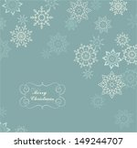 Christmas Card With White...