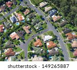 aerial view of  australian... | Shutterstock . vector #149265887