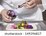 midsection closeup of male chef ... | Shutterstock . vector #149296817