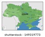 physical map of ukraine   Shutterstock . vector #149319773
