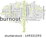 word cloud   burnout | Shutterstock . vector #149331593