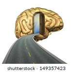 destination mind  road to the... | Shutterstock . vector #149357423