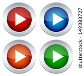 collection of buttons with the... | Shutterstock . vector #149383727