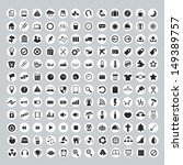 universal icons for web and... | Shutterstock .eps vector #149389757
