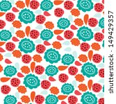multicolored flowers   Shutterstock .eps vector #149429357