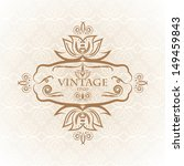 vintage background  antique... | Shutterstock .eps vector #149459843