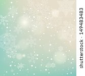 christmas background with... | Shutterstock .eps vector #149483483