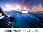 car driving fast | Shutterstock . vector #149513327
