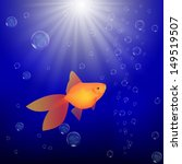 goldfish in water | Shutterstock .eps vector #149519507