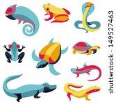 vector set of design elements ... | Shutterstock .eps vector #149527463