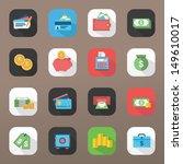finance icons | Shutterstock .eps vector #149610017