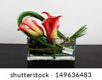 Colorful Floral Arrangement In...