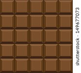 chocolate seamless texture. can ... | Shutterstock .eps vector #149677073