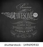 chalk  typography  calligraphic