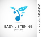 easy listening music symbol... | Shutterstock .eps vector #149693063