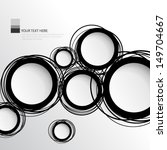 simple circles background | Shutterstock .eps vector #149704667