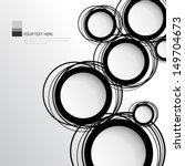 simple circles background | Shutterstock .eps vector #149704673