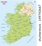 ireland map | Shutterstock .eps vector #149743667