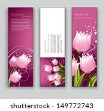Floral Vector Banners. Set Of...
