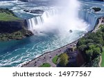 Niagara Falls  Horseshoe Fall....