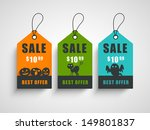 sale  discount or offer tags ... | Shutterstock .eps vector #149801837