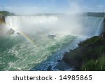 Landscape Of Horseshoe Falls O...