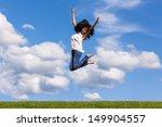 outdoor portrait of a smiling...   Shutterstock . vector #149904557