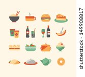 Food icons | Shutterstock vector #149908817