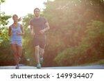 Photo Of Happy Couple Running...