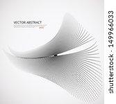 vector halftone dots 3d... | Shutterstock .eps vector #149966033