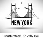 america,architecture,artwork,bird,bridge,brooklyn bridge,city,design,emblem,illustration,manhattan,modern,new,sea,shape