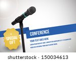 conference tamplate... | Shutterstock .eps vector #150034613