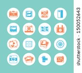 photography icons  | Shutterstock .eps vector #150052643