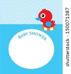 duck baby shower   Shutterstock .eps vector #150071387