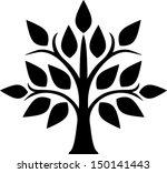 decorative tree   Shutterstock .eps vector #150141443
