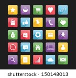 set of web icons 1 bitmap copy