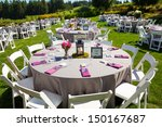 tables  chairs  decor  and...   Shutterstock . vector #150167687