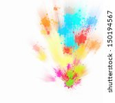 background image with colorful... | Shutterstock . vector #150194567