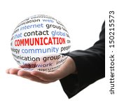 concept of communication | Shutterstock . vector #150215573