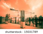 construction of a building ... | Shutterstock . vector #15031789