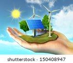 renewable energy sources | Shutterstock . vector #150408947