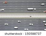 overhead view of transport on... | Shutterstock . vector #150588737