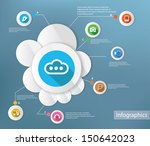 cloud computing and technology... | Shutterstock .eps vector #150642023