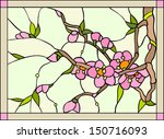 abstract,art,blossom,bright,cherry,colorful,decor,decorative,design,door,east,element,floral,flower,flower buds