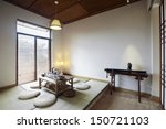 personal japanese style indoor... | Shutterstock . vector #150721103