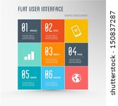 flat user interface   graphic...