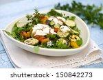 Salad Of Roast Zucchini And...