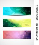 set of abstract beautiful web... | Shutterstock .eps vector #150880013