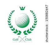 golf label   Shutterstock .eps vector #150882647