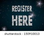 black  glowing membership 3d...   Shutterstock . vector #150910013